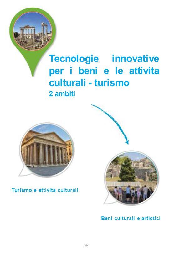 Tecnologie innovative per i beni e le attivita culturali - turismo