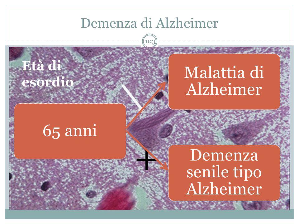 Demenza senile tipo Alzheimer