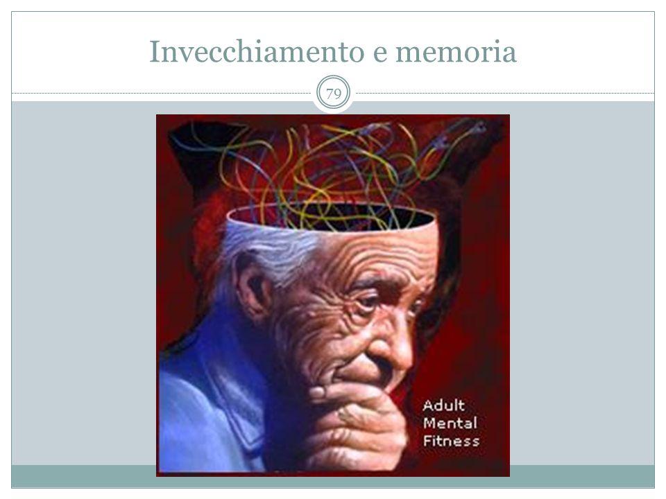 Invecchiamento e memoria