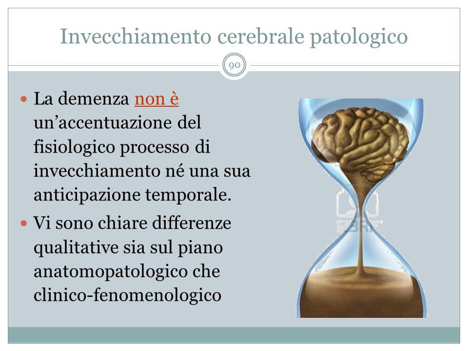 Invecchiamento cerebrale patologico