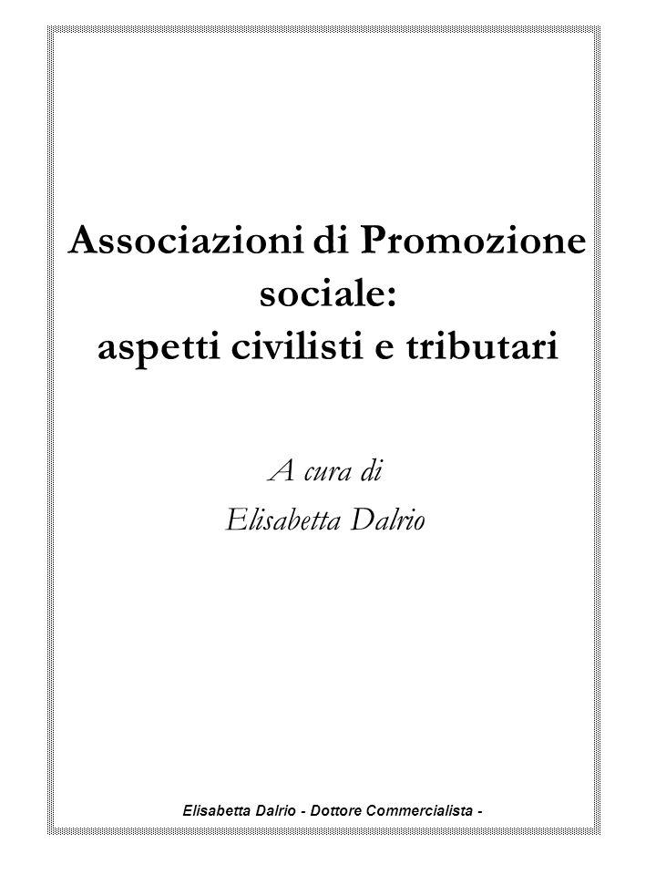 Associazioni di Promozione sociale: aspetti civilisti e tributari