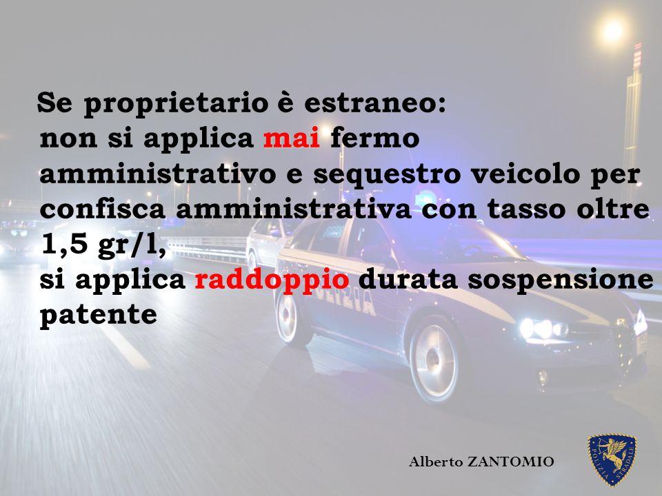 Omicidio colposo Alberto ZANTOMIO