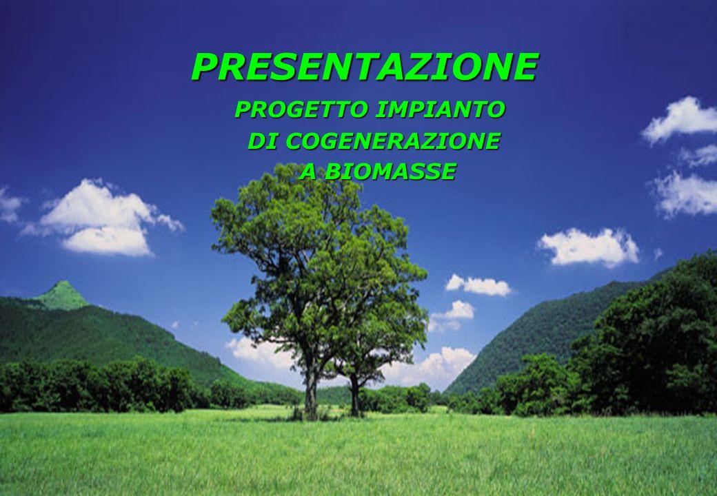 PRESENTAZIONE PROGETTO IMPIANTO DI COGENERAZIONE A BIOMASSE
