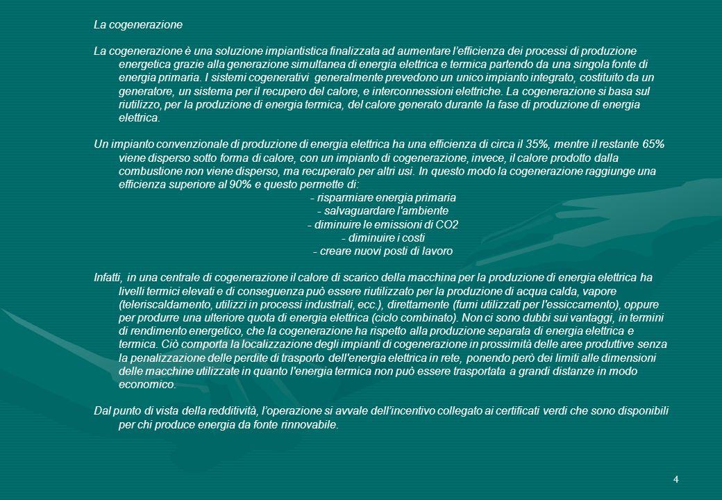- risparmiare energia primaria - salvaguardare l ambiente