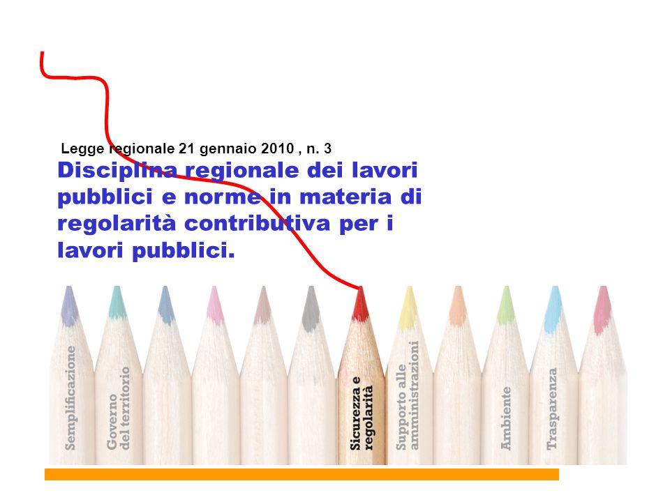 Legge regionale 21 gennaio 2010 , n