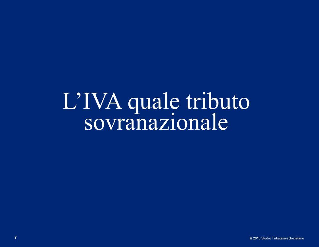L'IVA quale tributo sovranazionale