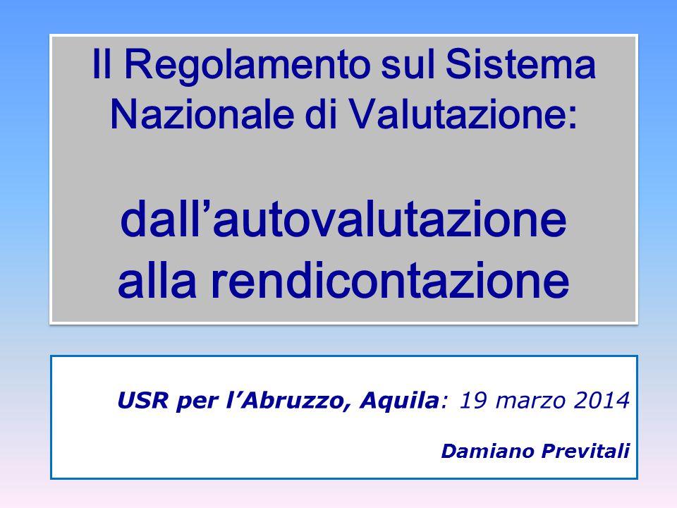 USR per l'Abruzzo, Aquila: 19 marzo 2014 Damiano Previtali