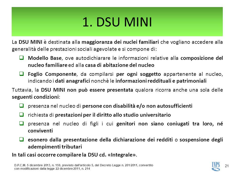 1. DSU MINI