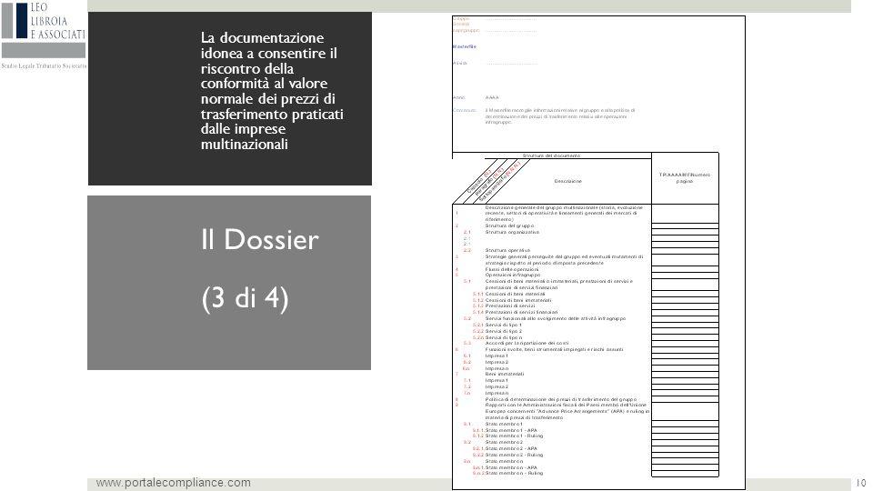 (3 di 4) Il Dossier www.portalecompliance.com