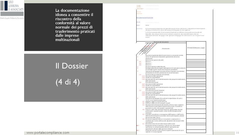 (4 di 4) Il Dossier www.portalecompliance.com