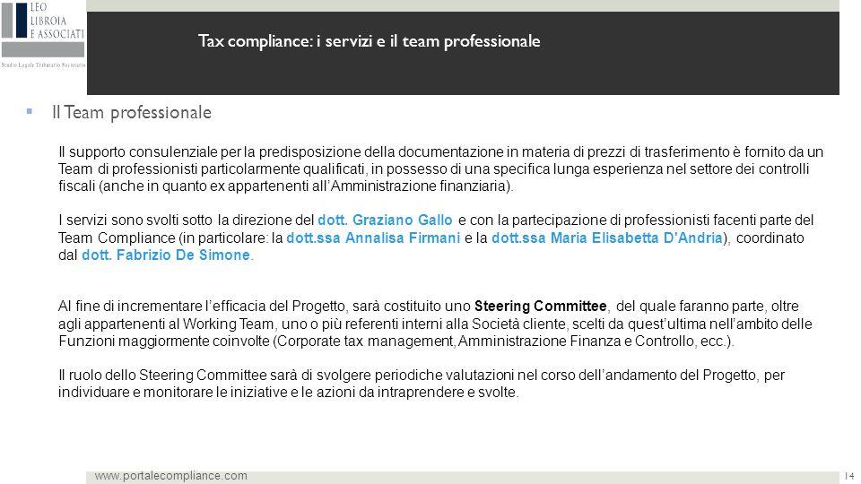 Tax compliance: i servizi e il team professionale
