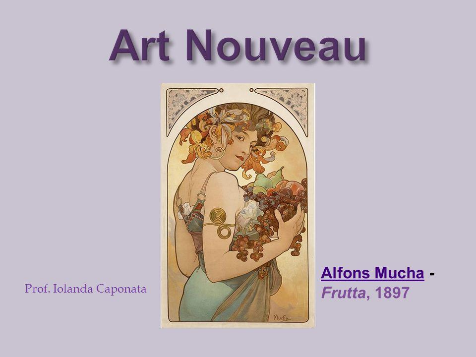 Art Nouveau Alfons Mucha - Frutta, 1897 Prof. Iolanda Caponata