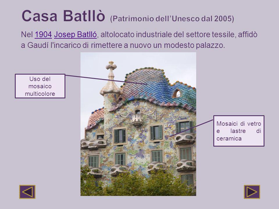 Casa Batllò (Patrimonio dell'Unesco dal 2005)