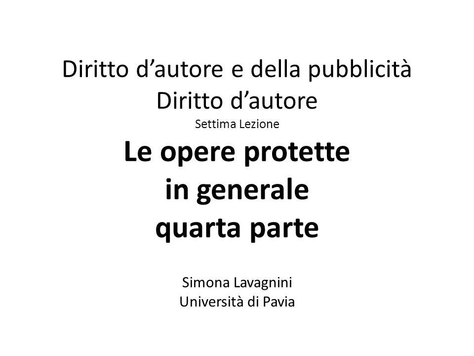 Simona Lavagnini Università di Pavia