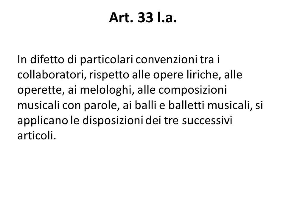 Art. 33 l.a.