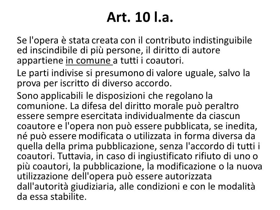 Art. 10 l.a.