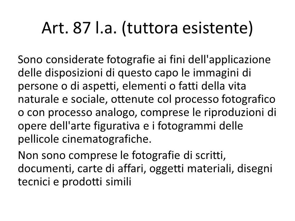 Art. 87 l.a. (tuttora esistente)