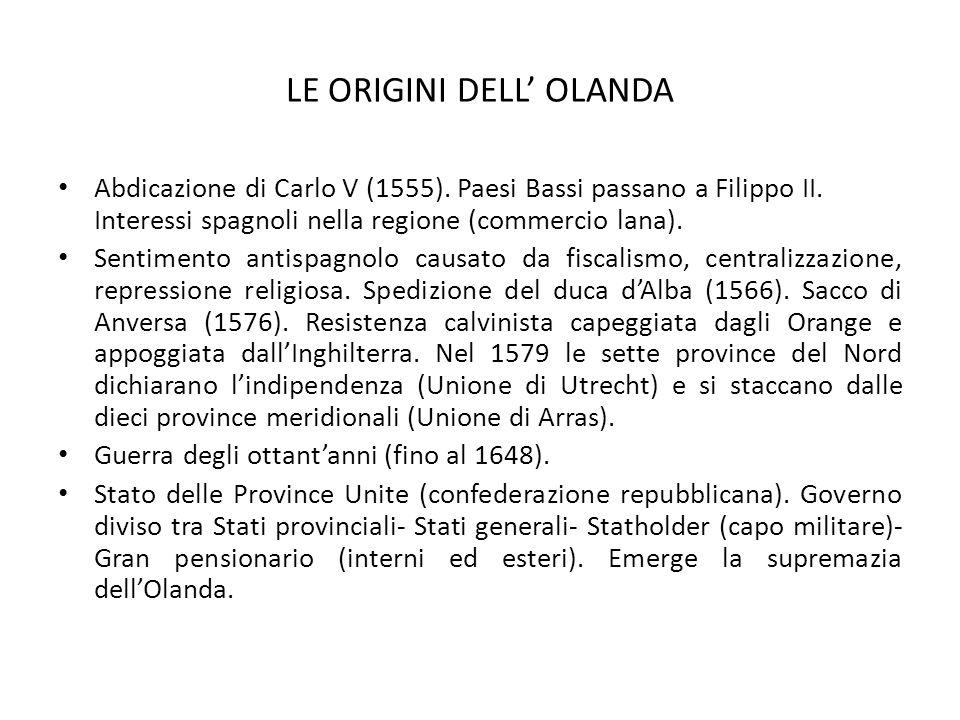 LE ORIGINI DELL' OLANDA