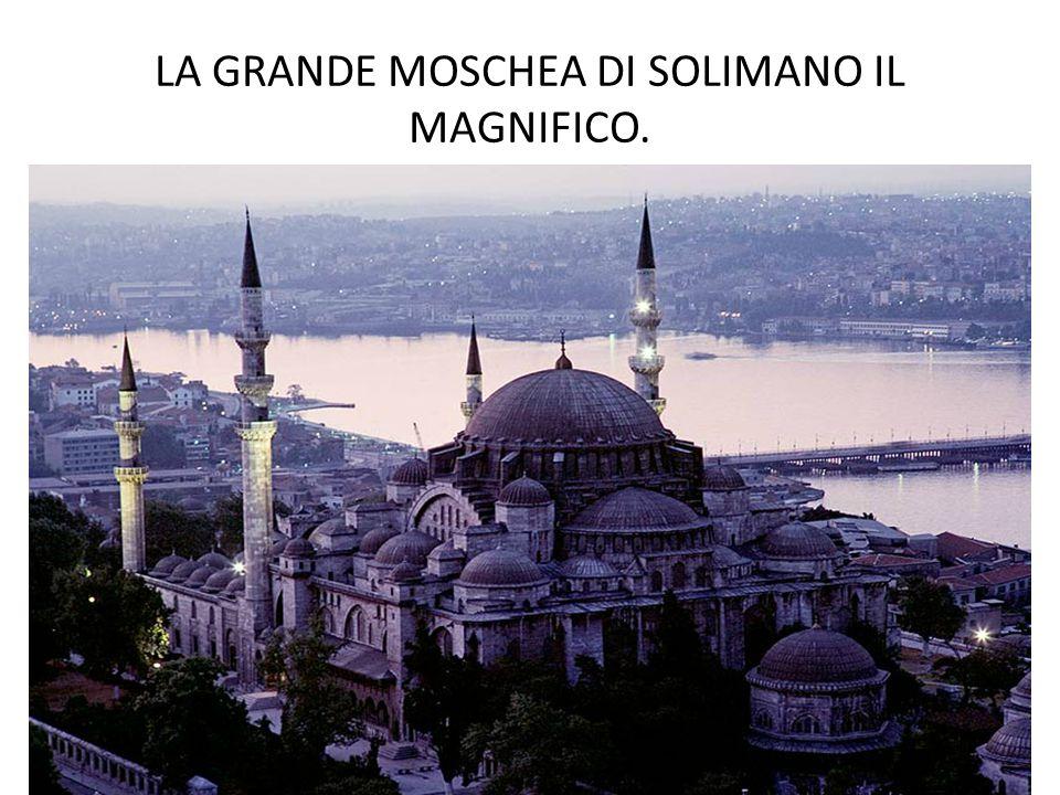LA GRANDE MOSCHEA DI SOLIMANO IL MAGNIFICO.