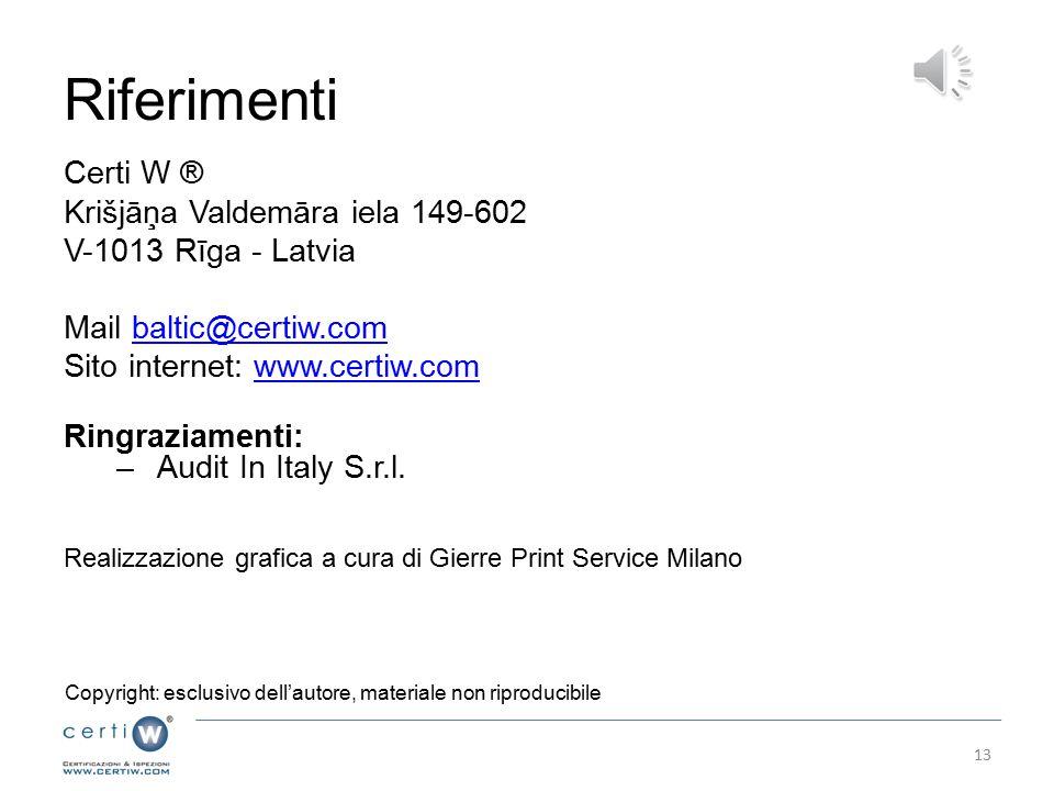 Riferimenti Certi W ® Krišjāņa Valdemāra iela 149-602