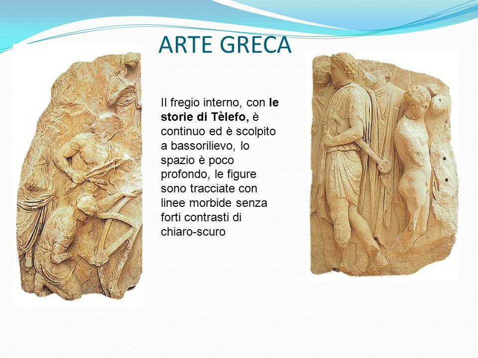 ARTE GRECA Il fregio interno, con le storie di Tèlefo, è