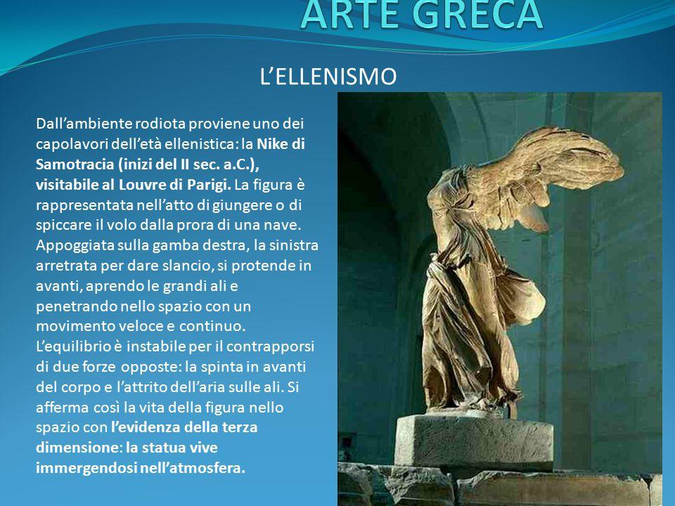 ARTE GRECA L'ELLENISMO