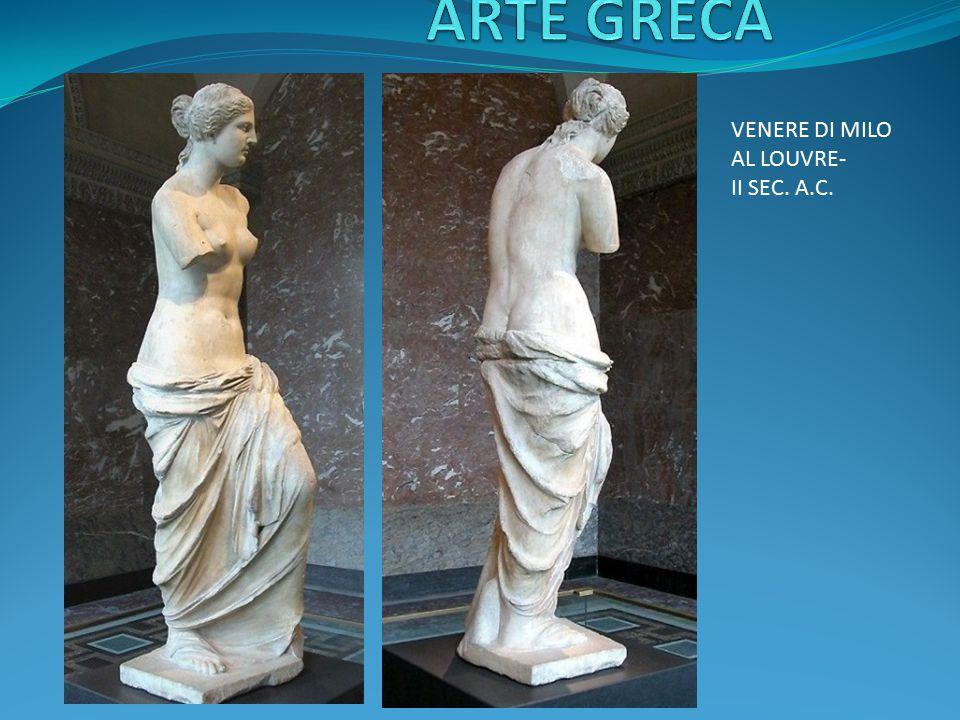 ARTE GRECA VENERE DI MILO AL LOUVRE- II SEC. A.C.