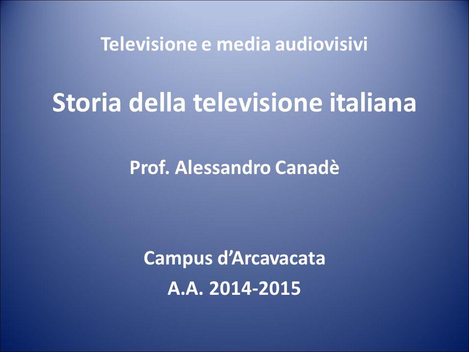Storia della televisione italiana