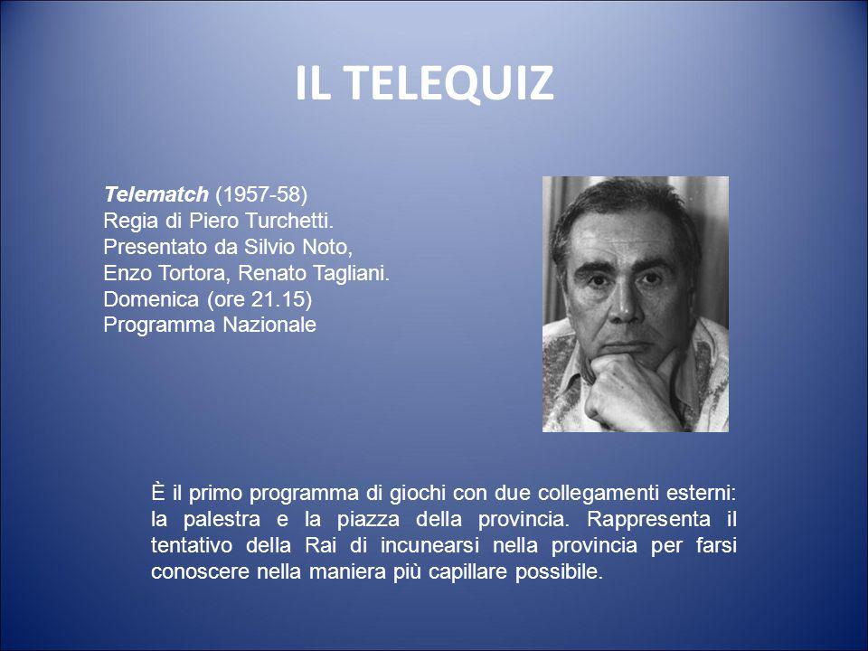 IL TELEQUIZ Telematch (1957-58)