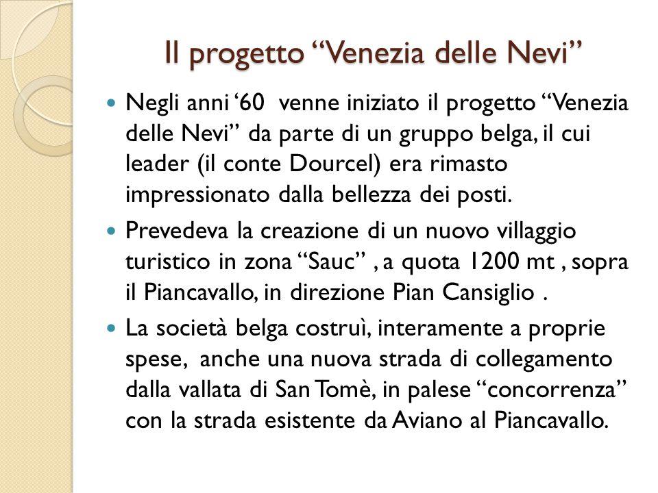 Il progetto Venezia delle Nevi