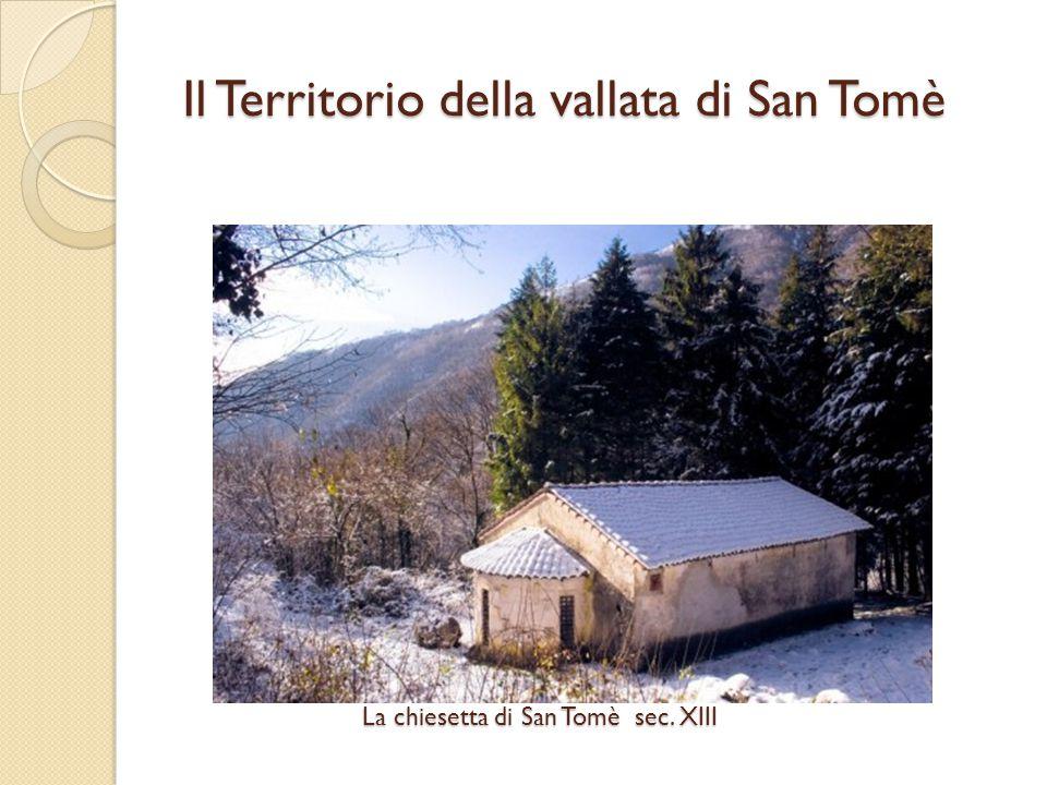 La chiesetta di San Tomè sec. XIII