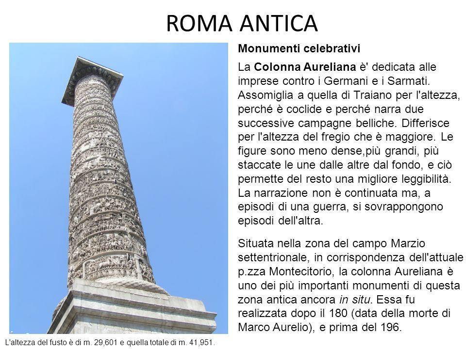 ROMA ANTICA Monumenti celebrativi