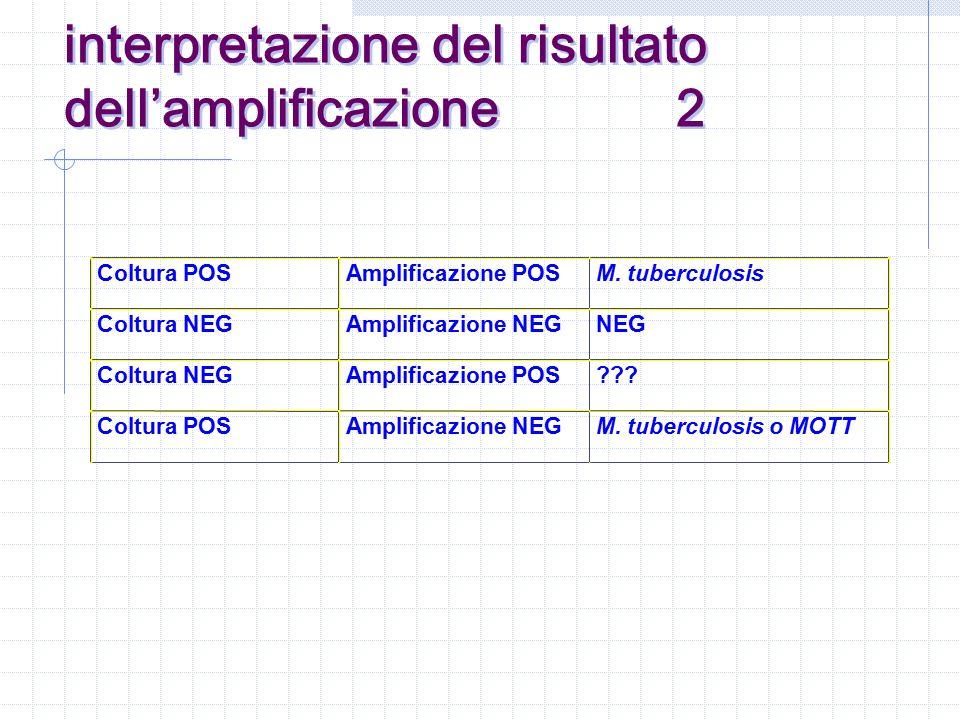 interpretazione del risultato dell'amplificazione 2