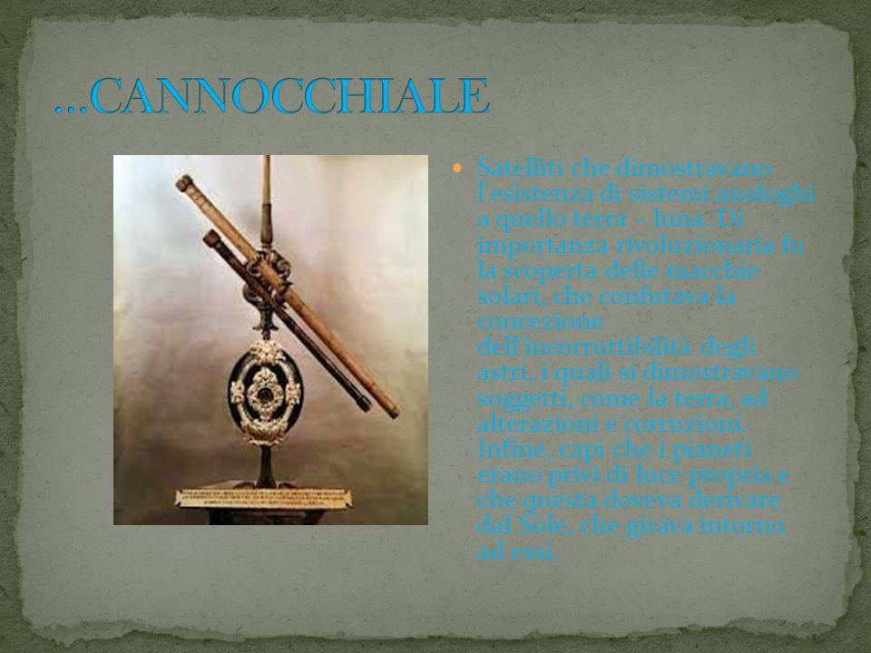 …CANNOCCHIALE