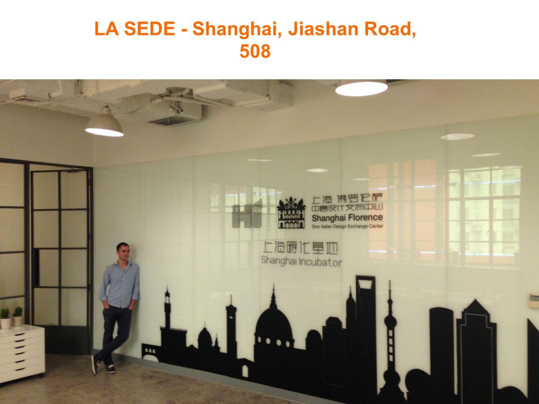 LA SEDE - Shanghai, Jiashan Road, 508