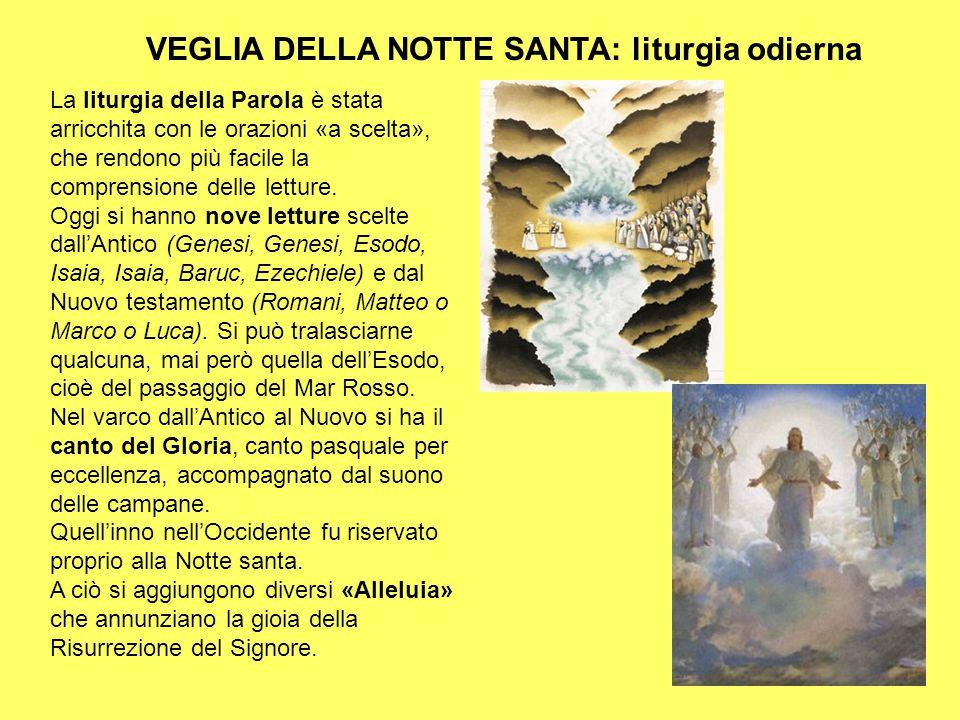 VEGLIA DELLA NOTTE SANTA: liturgia odierna