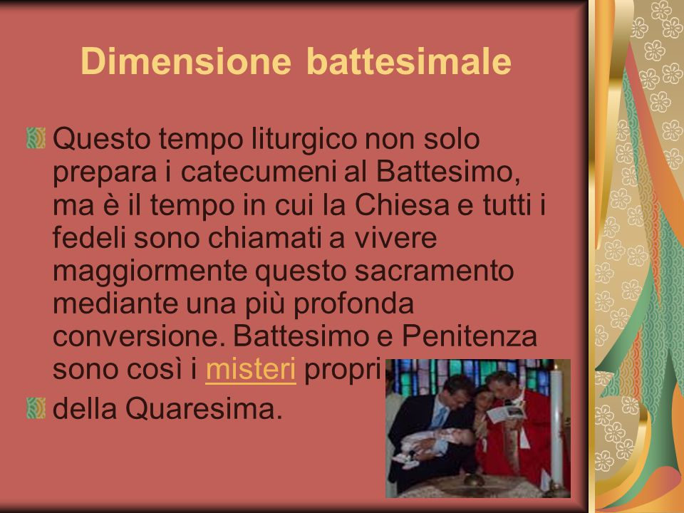 Dimensione battesimale
