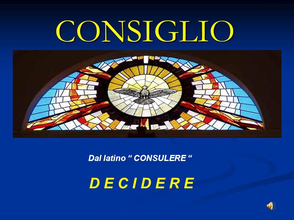 Dal latino CONSULERE