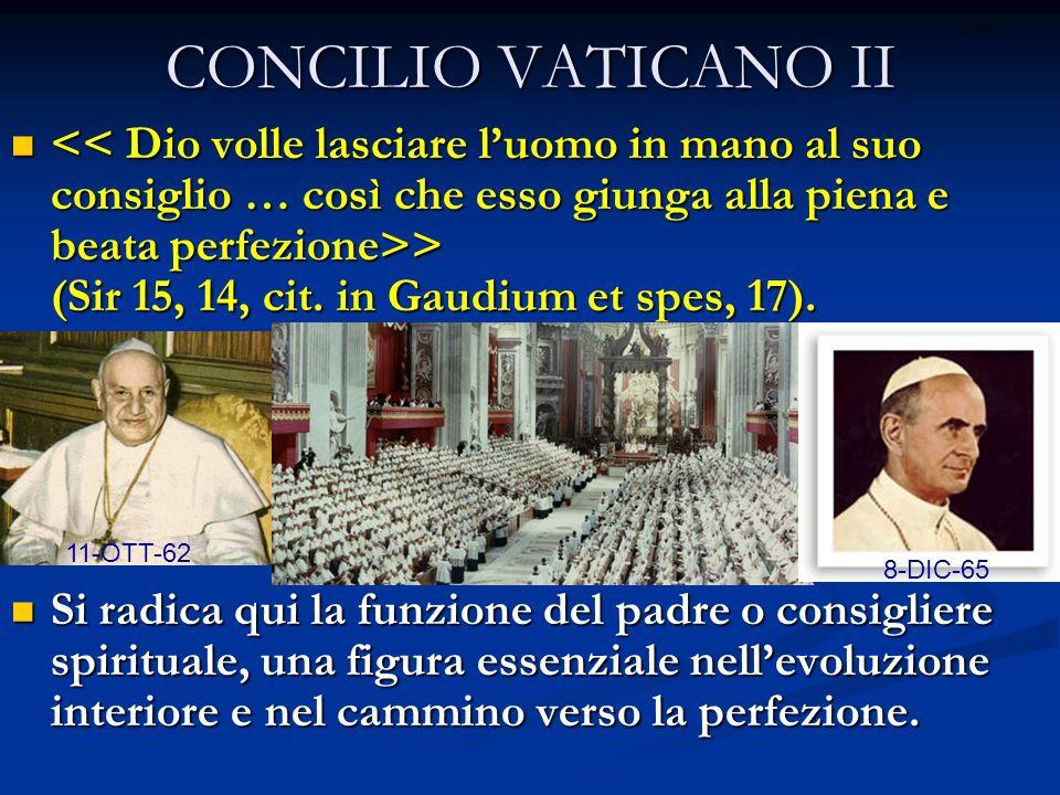 CONCILIO VATICANO II ritardo.