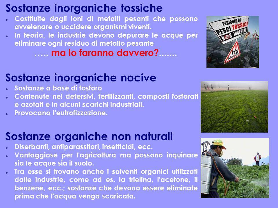 Sostanze inorganiche tossiche