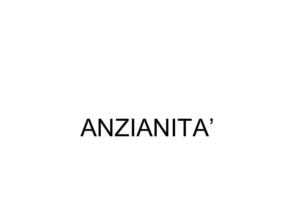 ANZIANITA'