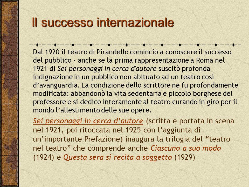 Il successo internazionale