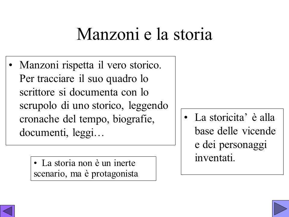 Manzoni e la storia