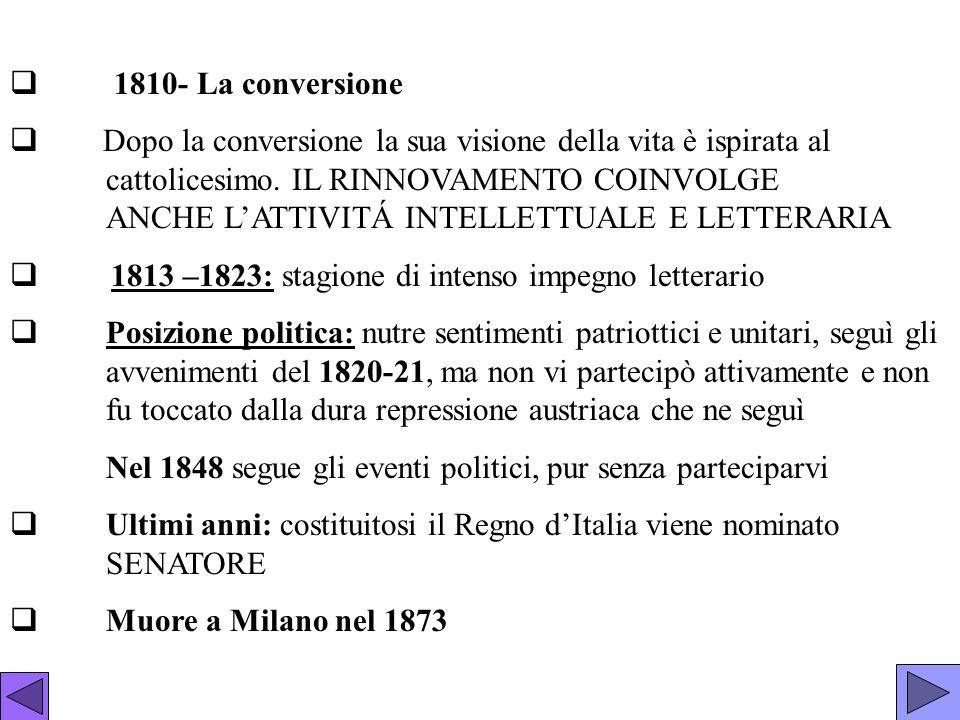 1810- La conversione