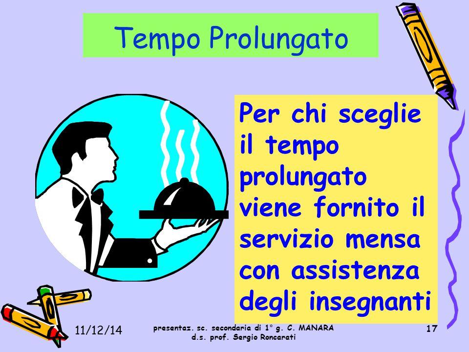 I. C. S. MOROSINI 11/12/14. Tempo Prolungato.