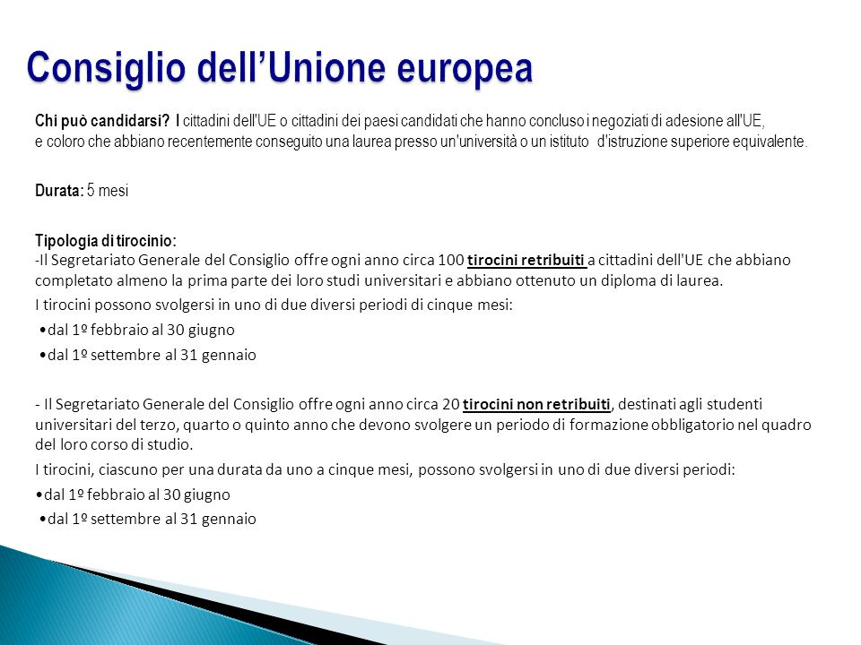 Opportunit formative al parlamento europeo ppt scaricare - In diversi paesi aiutano gli studenti universitari ...