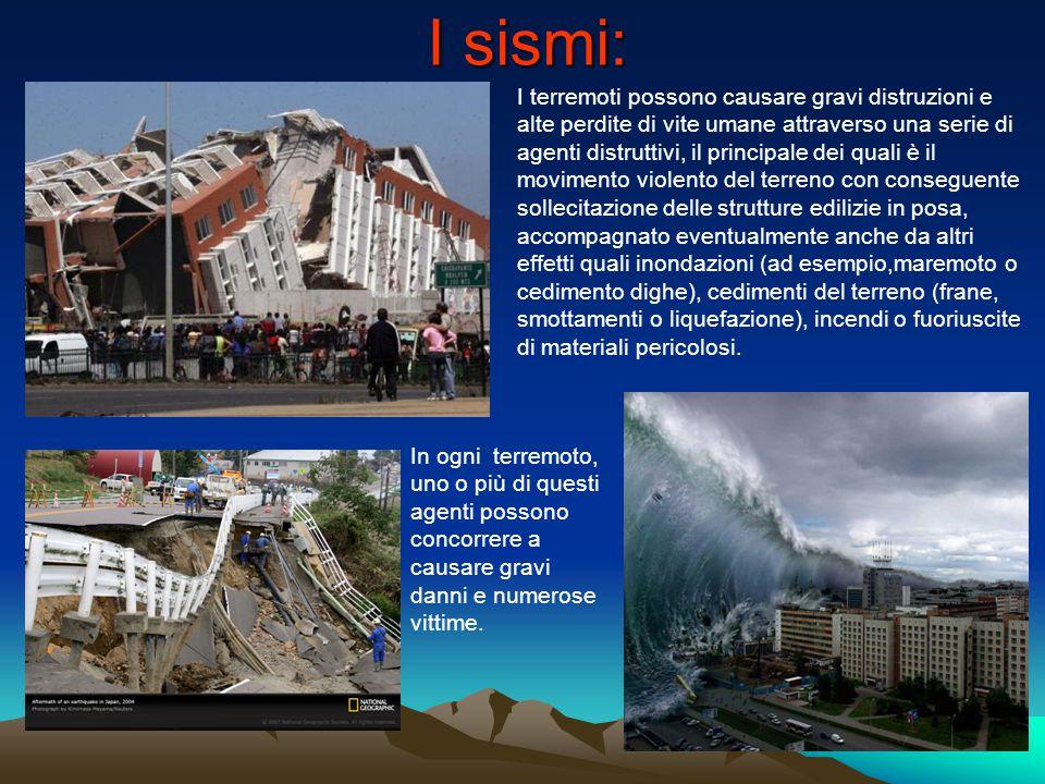 I sismi: I terremoti possono causare gravi distruzioni e