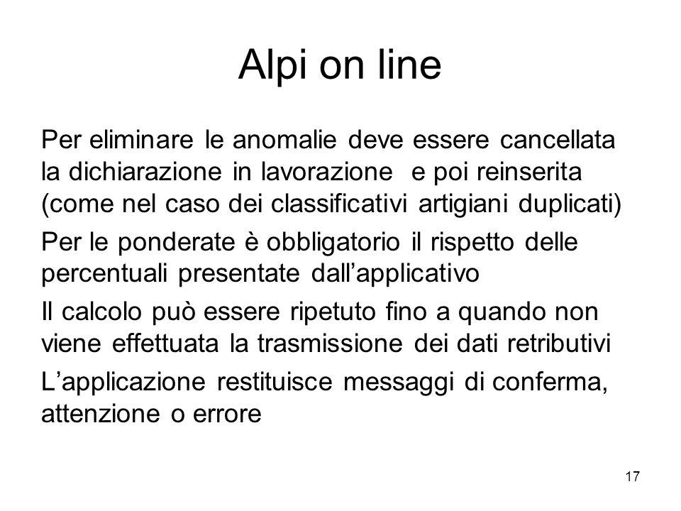 Alpi on line