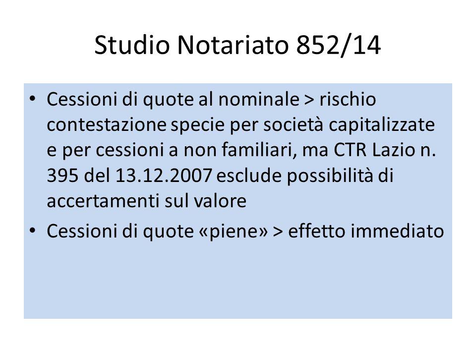 Studio Notariato 852/14