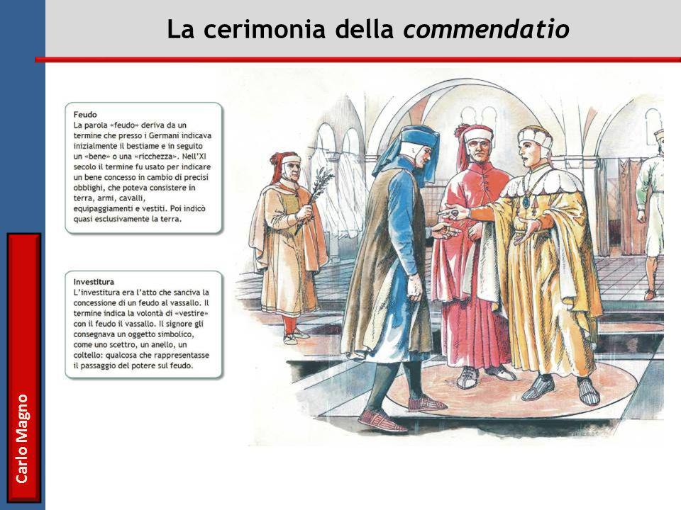 La cerimonia della commendatio